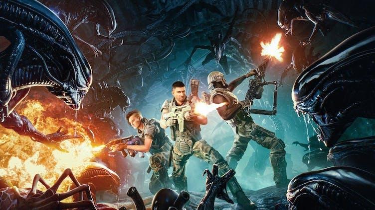 Aliens: Fireteam - Left 4 Dead set in space