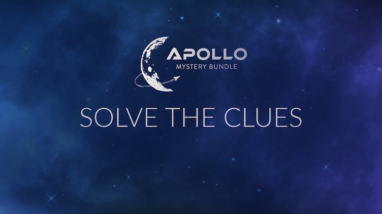 What A-grade games are in the Apollo Mystery Bundle - Solve our picture clues