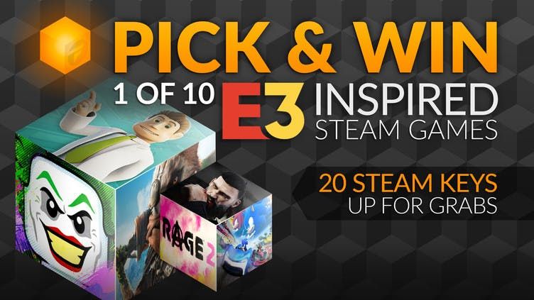 Pick and win one of 10 E3 inspired Steam PC games