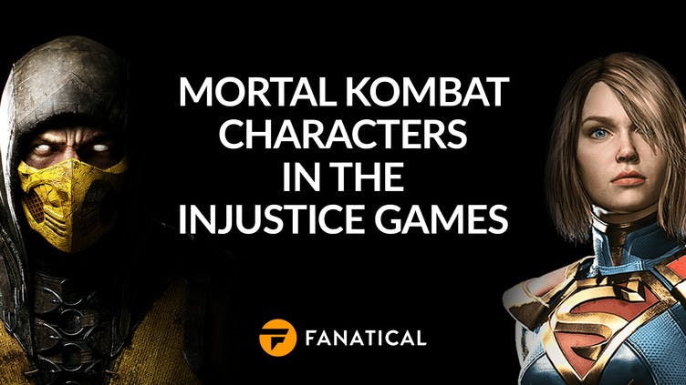 Mortal Kombat characters in the Injustice games