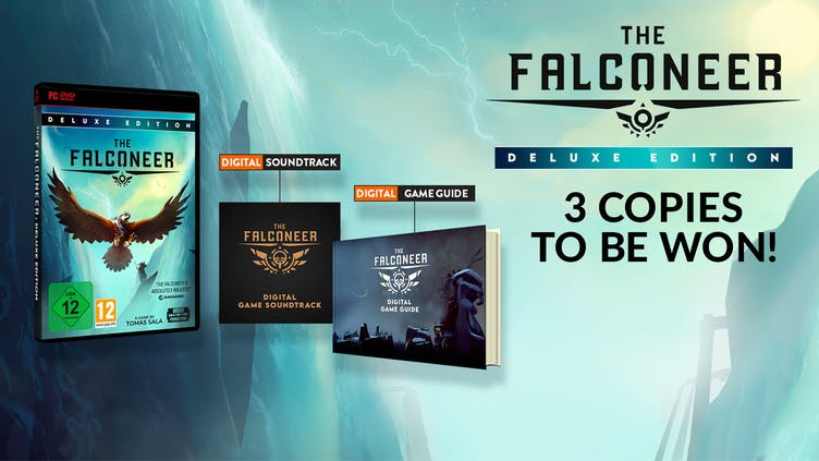 Win one of 3 The Falconeer Deluxe Edition PC games with Fanatical