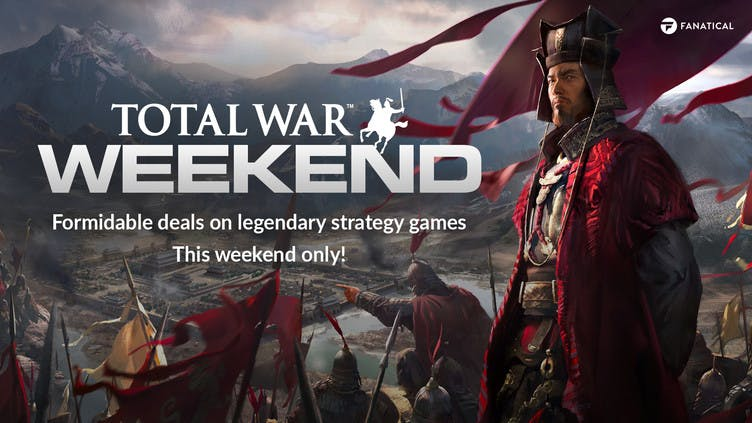 Big savings on Total War Steam PC games this weekend