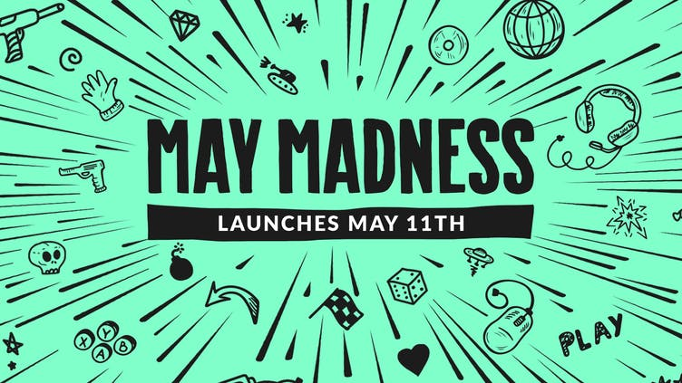 Get ready for May Madness 2020 - Big publishers and unmissable game deals