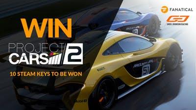 Win one of ten Project CARS 2 Steam keys