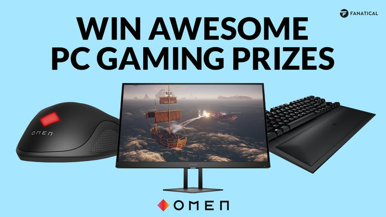 Win awesome OMEN PC gaming prizes in Fanatical's eggstravaganza giveaway