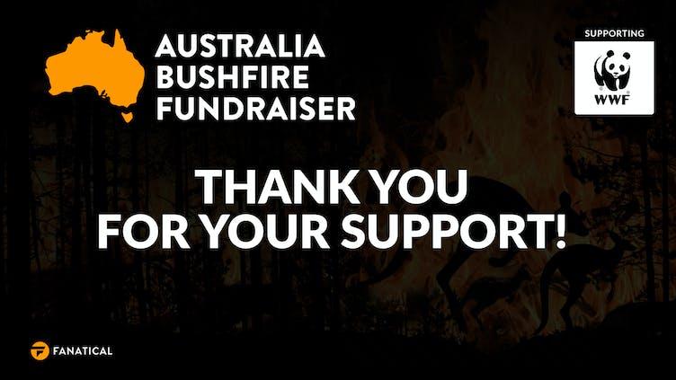Fanatical raises over $50,000 AUD for WWF Bushfire Appeal