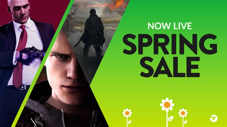 Find awesome game deals in the Fanatical Spring Sale - NOW LIVE