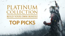 Top games you can buy in the Platinum Collection: Build your own Bundle