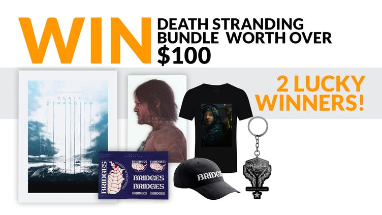 Win a Death Stranding bundle worth over $100 with Fanatical