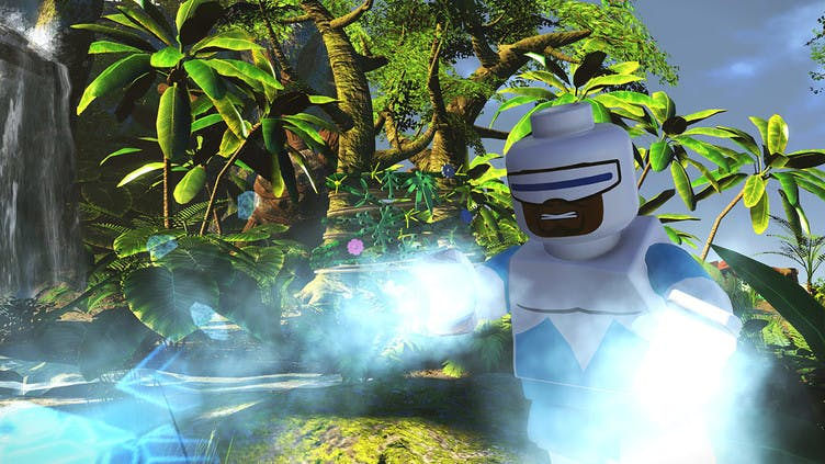 Random playable Pixar characters in LEGO The Incredibles