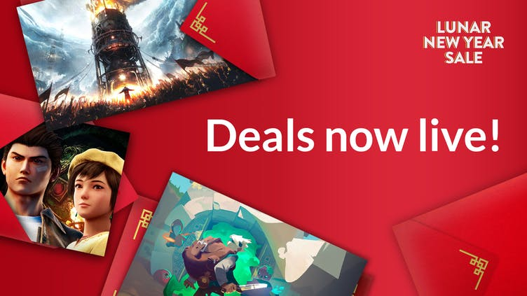Find top Steam PC game deals and more in Fanatical's Lunar New Year Sale