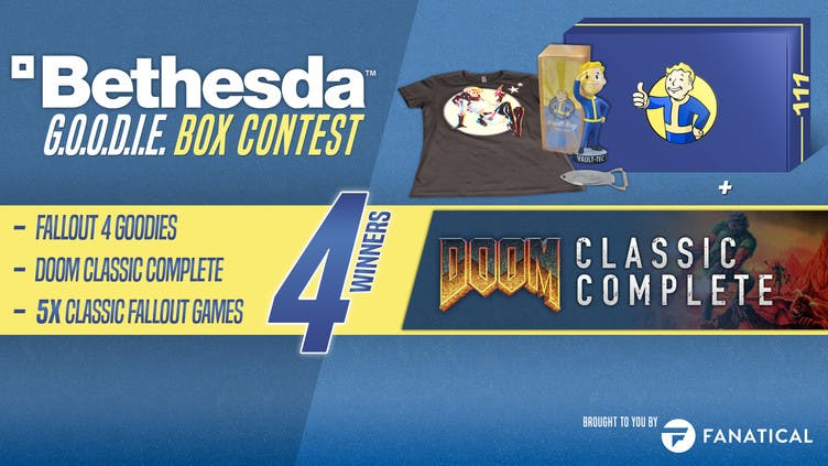 Win Fallout and DOOM games in the Bethesda Goodie Box