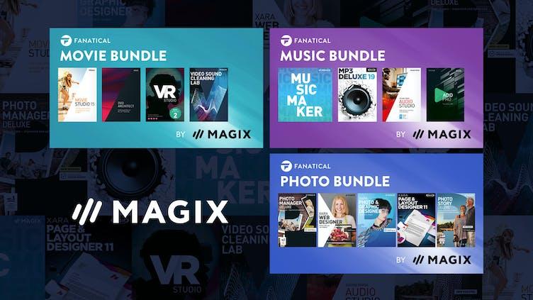 Fanatical launches exclusive MAGIX bundle range
