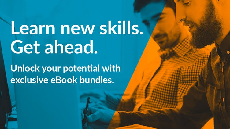 Learn new skills with Fanatical's exclusive eBook bundles