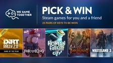 Pick & Win one of 25 pairs of multiplayer game keys for you and a friend