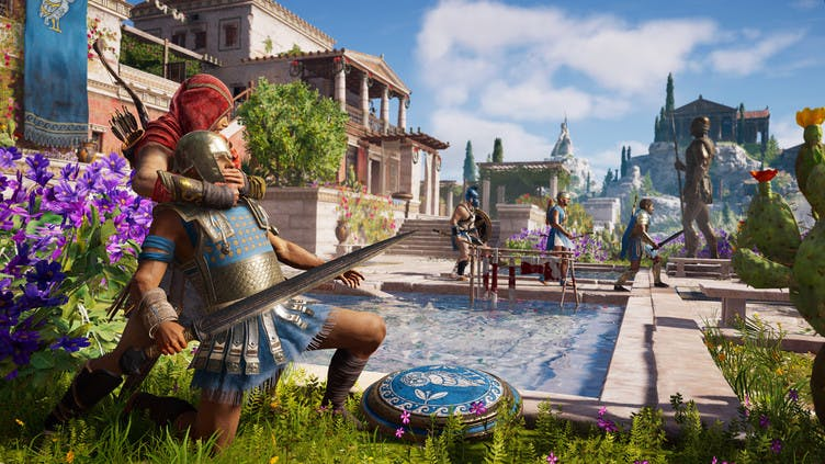 Assassin's Creed Odyssey new gameplay ahead of launch