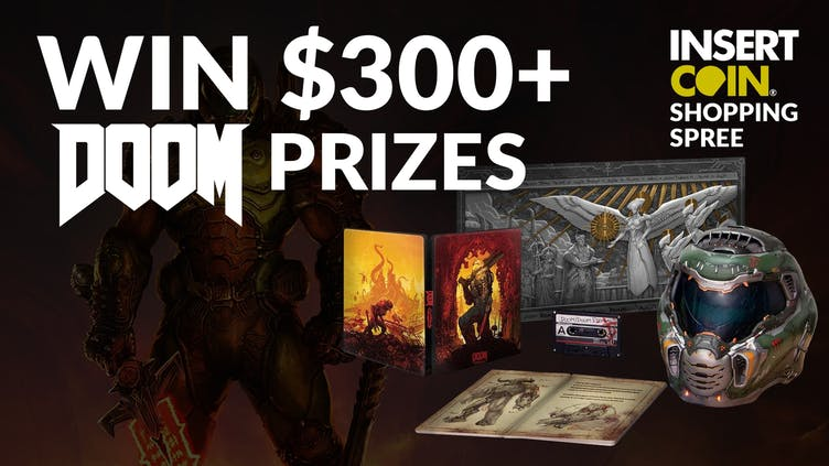 Win DOOM Eternal Collector's Edition and Insert Coin goodies