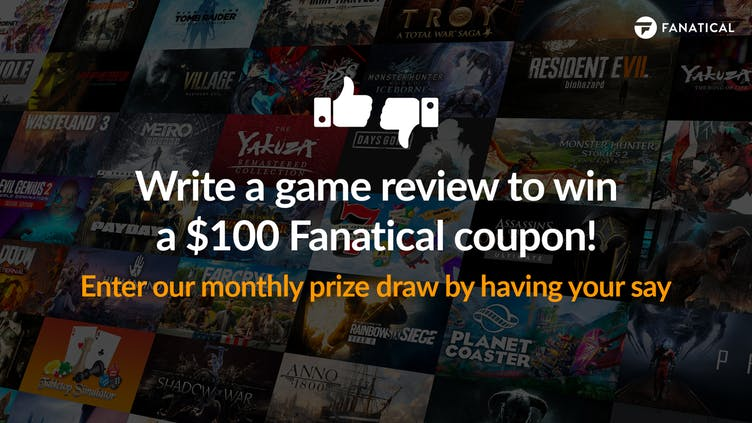 Write a game review for chance to win a $100 Fanatical coupon