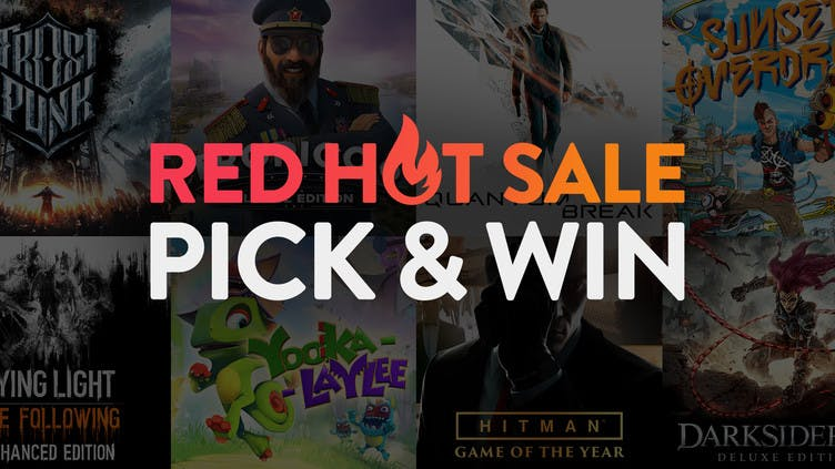 Pick and win Red Hot Steam PC bundles with Fanatical
