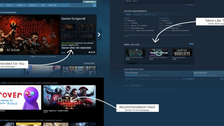 Steam makes 'several algorithmic changes and bug fixes' in big update
