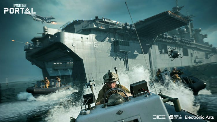 Unleash your creativity with the new Battlefield 2042 Portal game mode