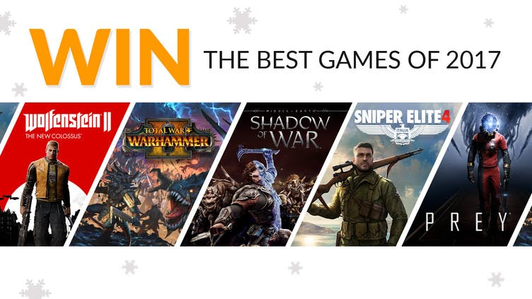 Win the 'best games' of 2017