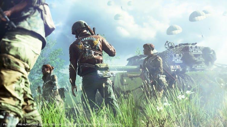 EA teases a new, next-generation Battlefield reveal next week