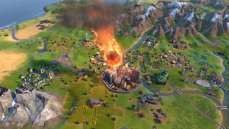 What's included in the Civilization VI - New Frontier Pass