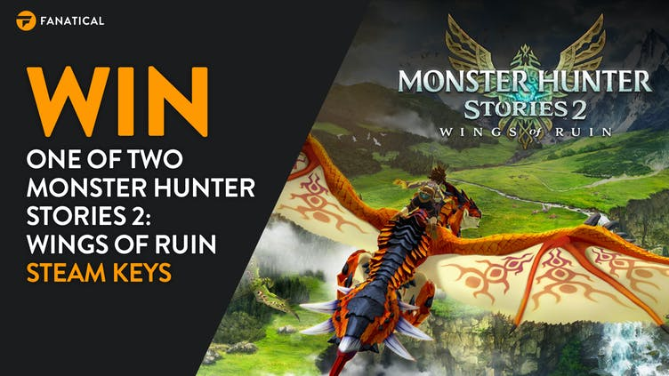 Win a Steam PC key of Monster Hunter Stories 2: Wings of Ruin with Fanatical