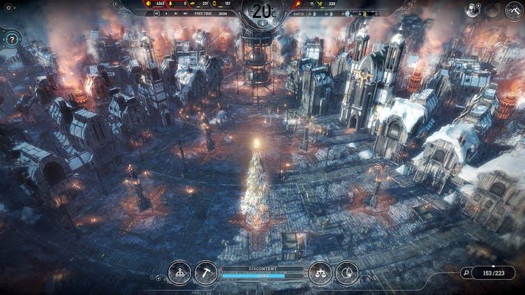 Frostpunk gets free 'A Christmas Carol' update