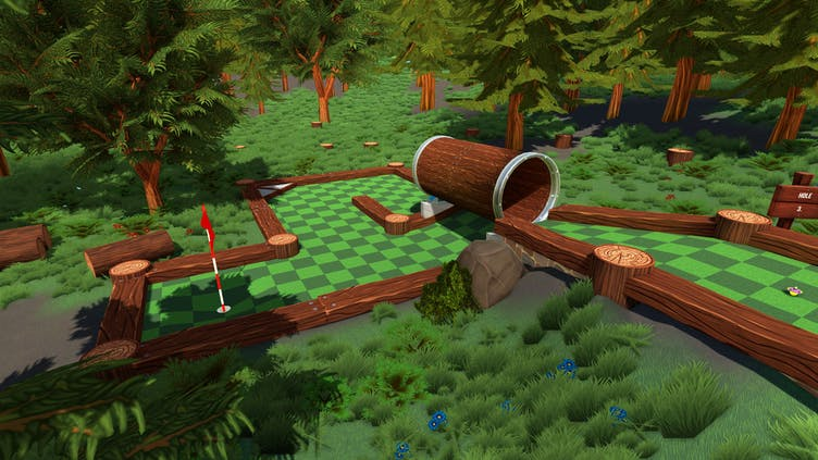 Golf With Your Friends - How to get hole-in-ones on Forest courses