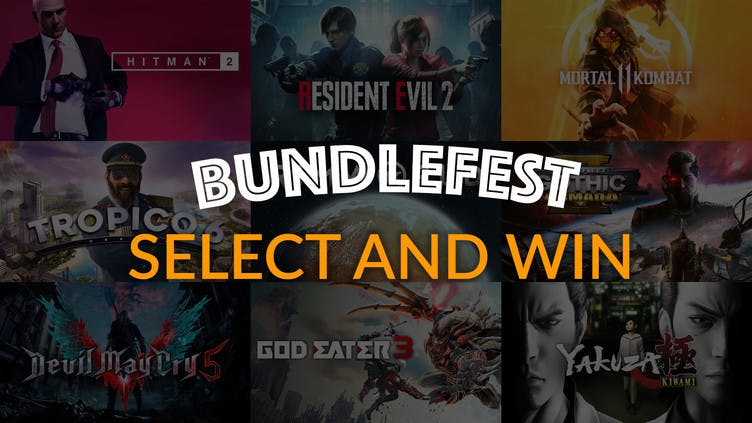 Select and Win top Steam bundles with Fanatical