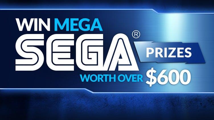 Win mega SEGA prizes worth over $600