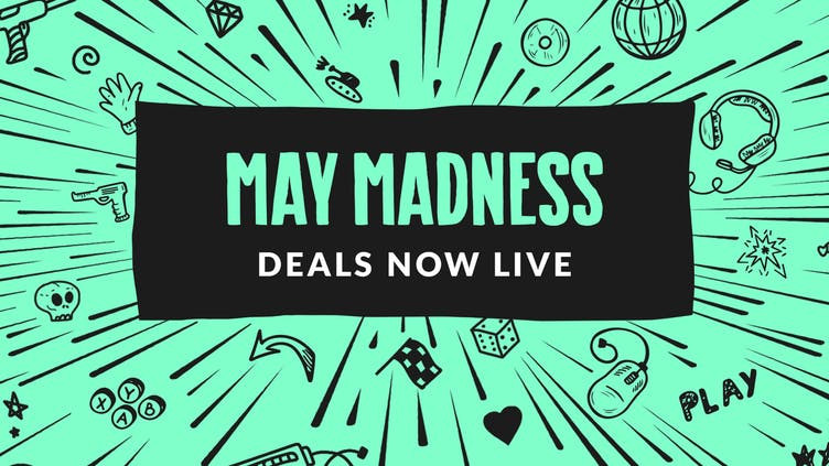 Huge savings on Steam PC games with May Madness