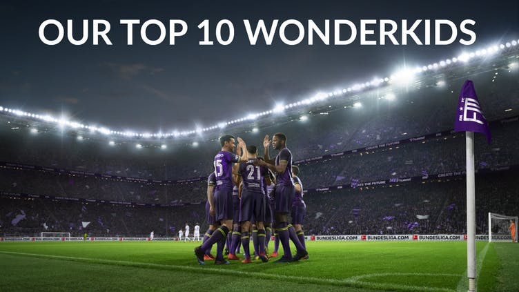 Our 10 favorite Wonderkids in Football Manager 2021