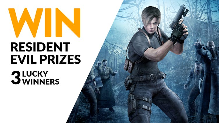 Chance to win Resident Evil prizes - Games and special edition vinyls