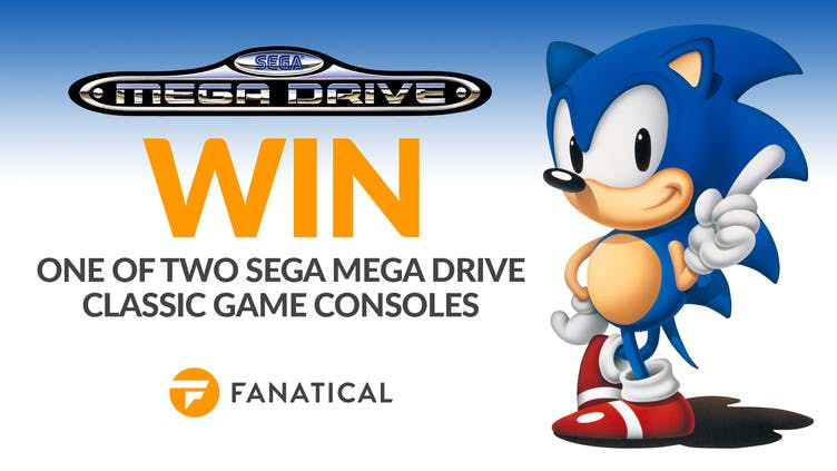 Win one of two SEGA Mega Drive Classic Game Consoles