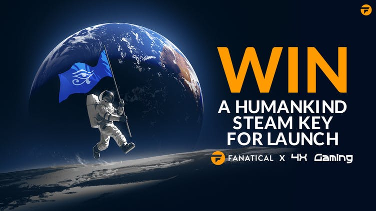 Chance to win HUMANKIND Digital Deluxe Edition Steam PC key