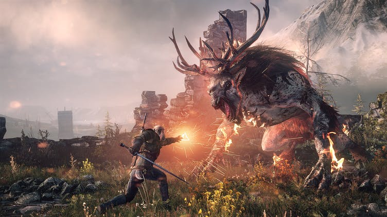The Witcher 3 smashes Steam record after Netflix TV show's success