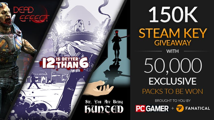 Chance to win one of 50,000 Steam triple packs - Here's how to enter