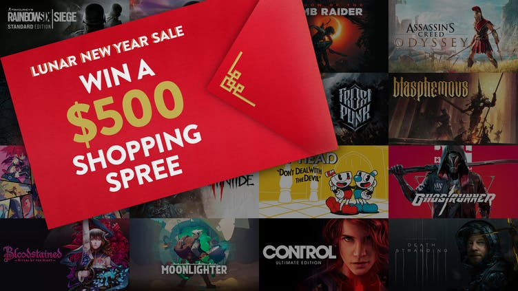CONTEST: Chance to win Lunar New Year Sale $500 shopping spree