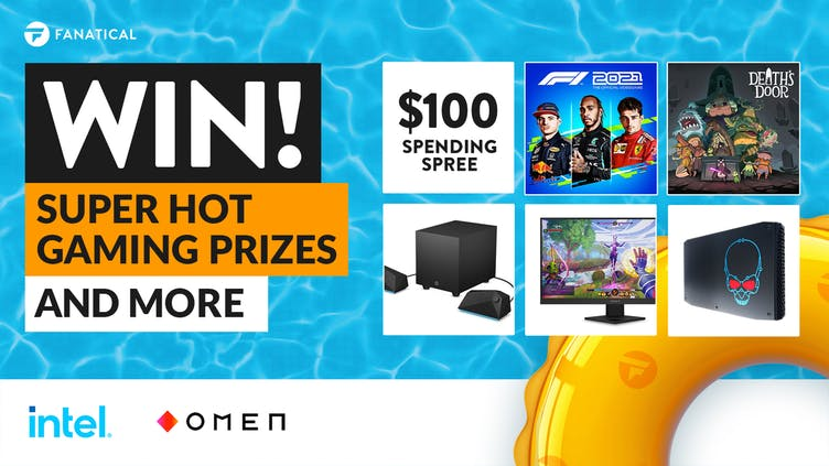 Win super hot OMEN and Intel gaming prizes in Fanatical's Summer Sale giveaway