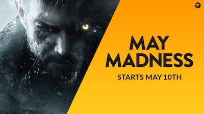 May Madness is coming - Get ready for 1000s of amazing game deals