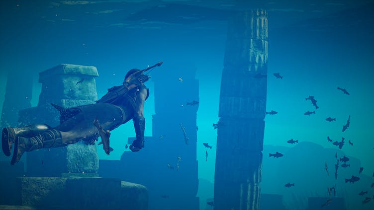 How to get unlimited breath underwater in Assassin's Creed Odyssey