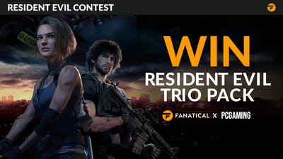 Win Resident Evil Steam game trio pack with Fanatical and PCGaming