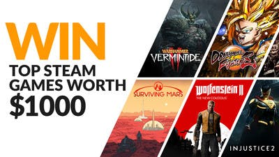 Win over 20 awesome Steam PC games worth $1,000