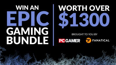 Chance to win epic gaming loot worth $1,300 with PC Gamer & Fanatical