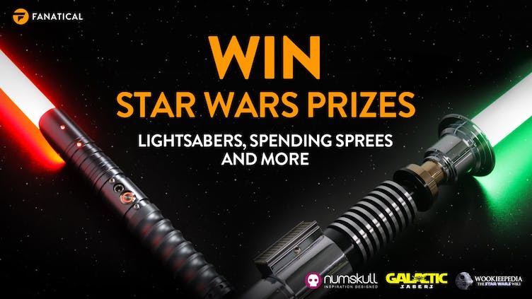 Win lightsabers, spending sprees and more in Fanatical Star Wars Day giveaway