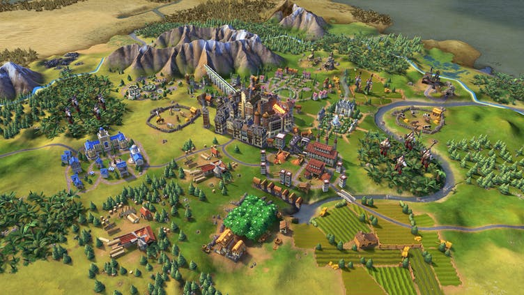 The history of Sid Meier's Civilization