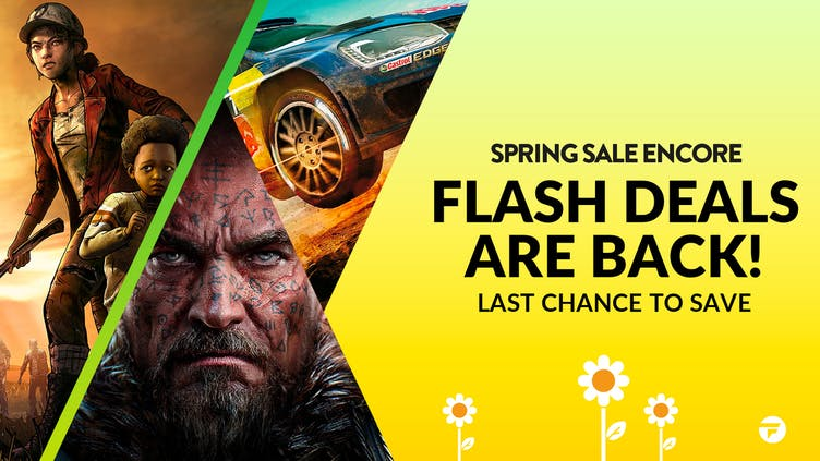 Last chance for 1000s of deals in Spring Sale Encore